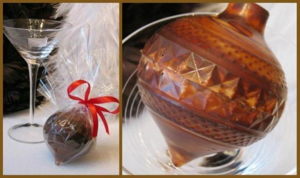 boule de chocolat belge