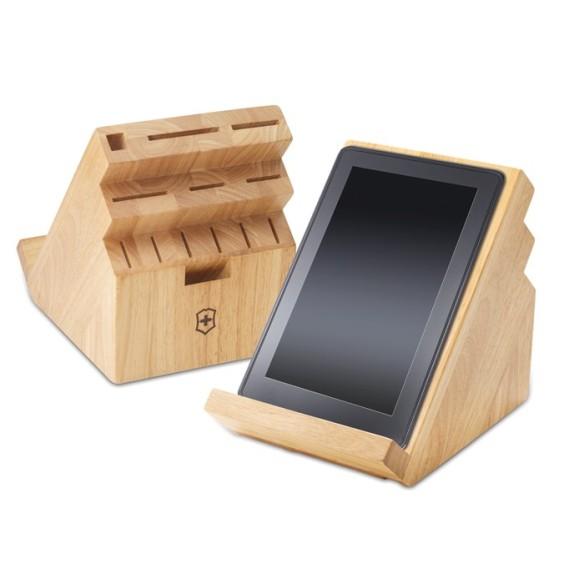 Un bloc de bois moderne